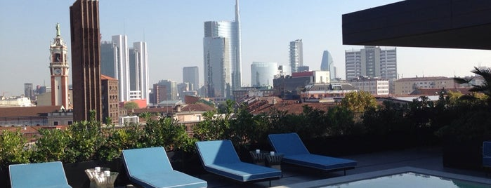 Ceresio 7 Pools & Restaurant is one of GAY GUIDE MILAN.