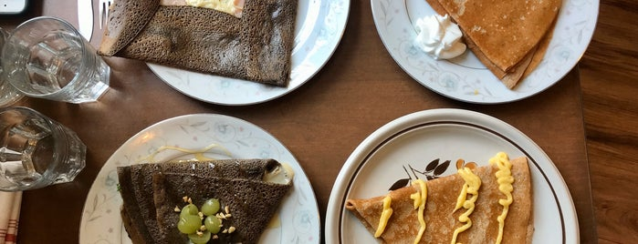 Crepes Choupette is one of Justin 님이 저장한 장소.