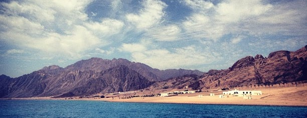 Dahab is one of Sharm Elsheikh.