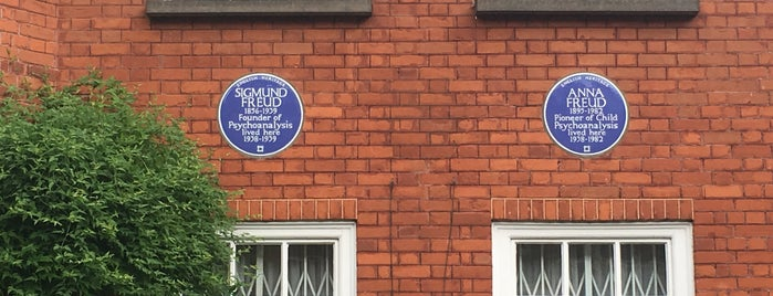 Freud Museum is one of Merve'nin Beğendiği Mekanlar.