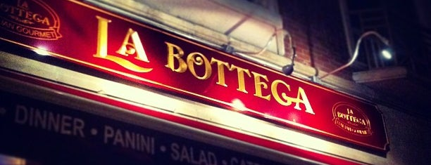 La Bottega is one of Gluten Free NYC.