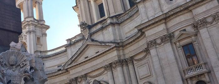 Fontana dei Quattro Fiumi is one of Anita'nın Beğendiği Mekanlar.