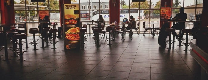 Burger King is one of Free WiFi Amsterdam.