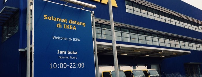 IKEA is one of Jakarta.