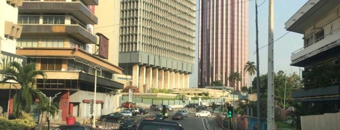 Abidjan is one of (Sort of) Capital cities of the World.