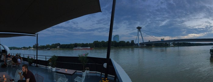 RIVA Bar & Bistro is one of Bratislava.