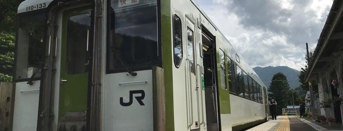 陸中川井駅 is one of JR 키타토호쿠지방역 (JR 北東北地方の駅).