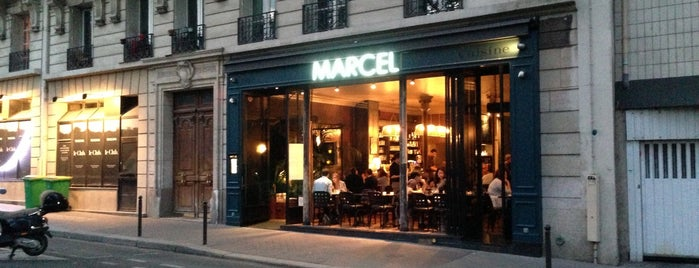 Marcel is one of Restaurant 2.