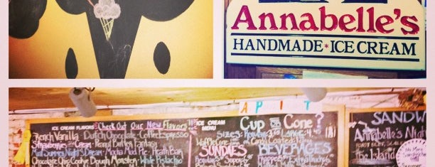 Annabelle's All Natural Ice Cream is one of ME & NH.