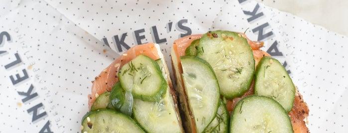Frankel's Delicatessen is one of Brooklyn.