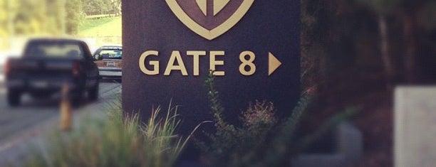 Gate 8 - Warner Bros. Studio is one of Hollywood.