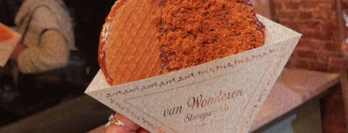 van Wonderen Stroopwafels is one of Amsterdam.