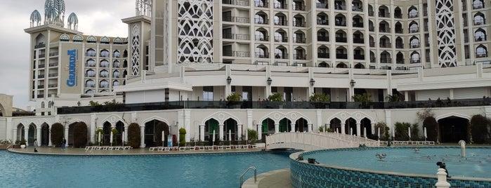 Granada Luxury Belek is one of WWWWW : понравившиеся места.