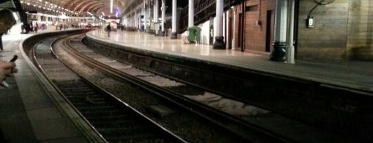 Platform 10 is one of Andrew : понравившиеся места.