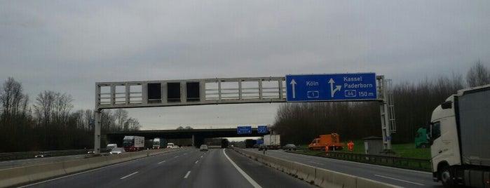 Kreuz Dortmund/Unna (84) (52) is one of Autobahnkreuze.