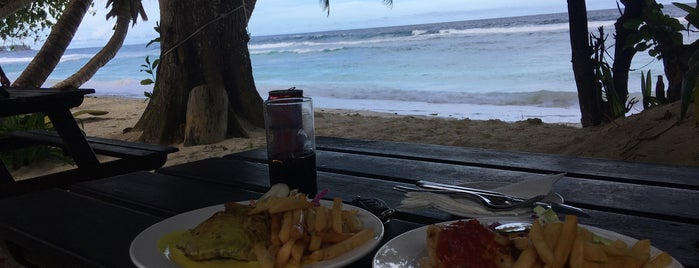 Surfers Beach Restaurant is one of Seychelles.