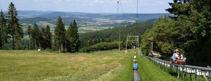 Sommerrodelbahn Wasserkuppe is one of Hotspots Hessen | Spiel & Spaß.