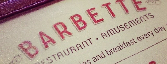 Barbette is one of Minneapolis Munchies.