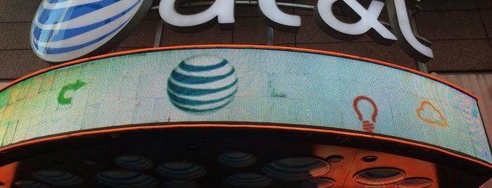 AT&T is one of Lieux qui ont plu à Erik.