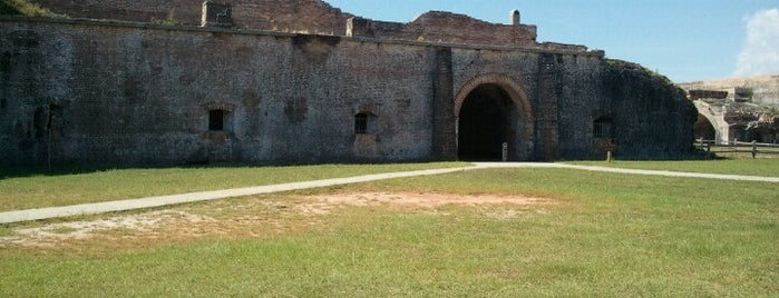 Fort Pickens is one of Pensacola /Perdido Key.