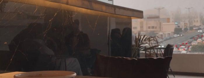 Omberllo Café is one of Abha.