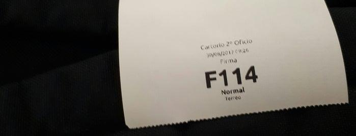Cartório do 2• ofício de notas e Registro de Imóveis is one of สถานที่ที่ Edgar ถูกใจ.