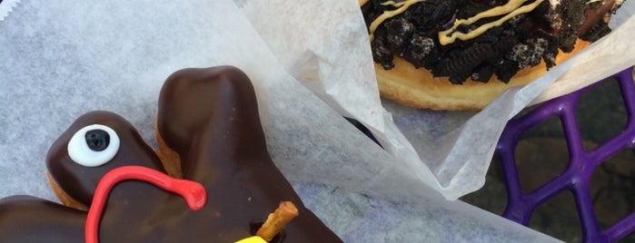 Voodoo Doughnut is one of PDX Breakfast Spots.