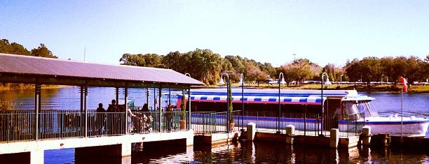Friendship Boat Dock - Disney's Hollywood Studios is one of Tempat yang Disukai Lindsaye.