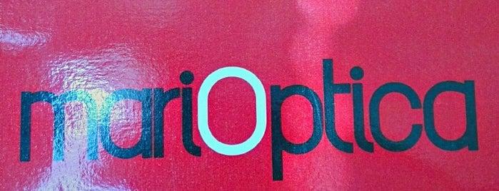 Marióptica is one of Lugares favoritos de Mauricio.