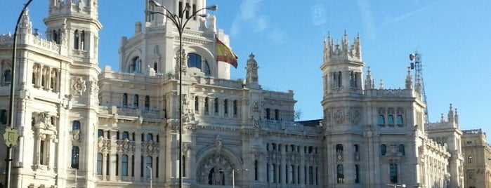 Plaza de Cibeles is one of Madrid.