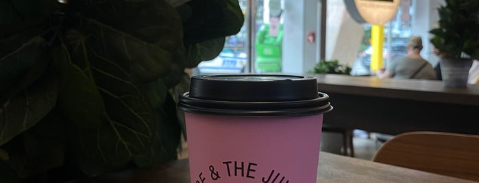 JOE & THE JUICE is one of Java to Try.