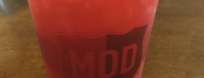 MOD Pizza is one of Tempat yang Disukai Jennifer.