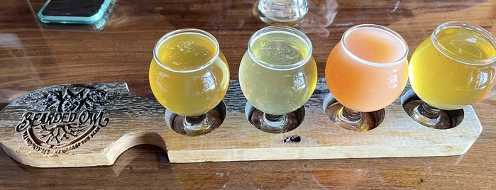 Bearded Owl Brewing is one of Peoria.