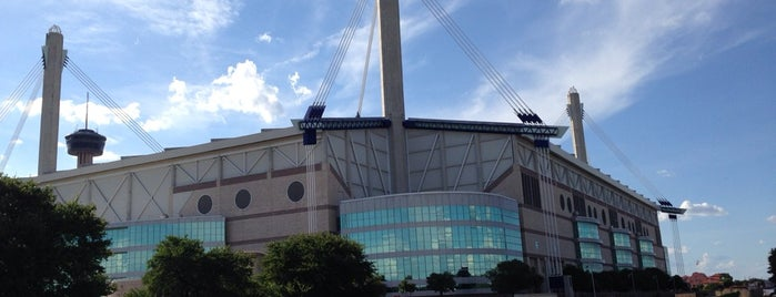 Alamodome is one of sports arenas and stadiums.