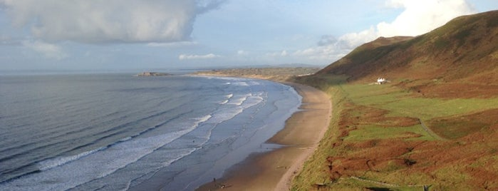 Rhossili Bay is one of Swansea.