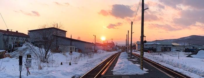 Higashi-Ainonai Station is one of JR 홋카이도역 (JR 北海道地方の駅).