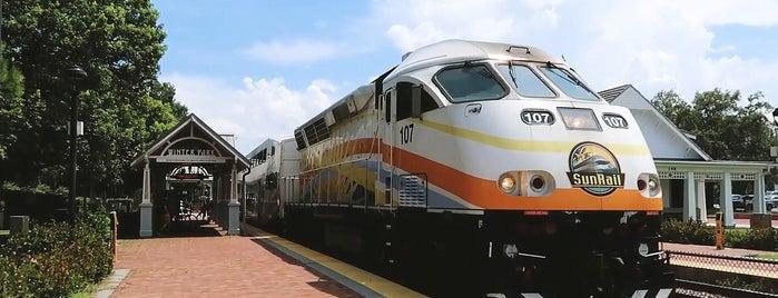 Amtrak Train Station is one of Orlando.