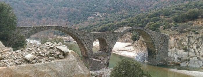 Βυζαντινή Γέφυρα Κομψάτου is one of สถานที่ที่ Kyriaki ถูกใจ.
