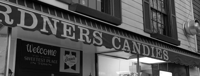 Gardners Candies is one of Fave Eats.