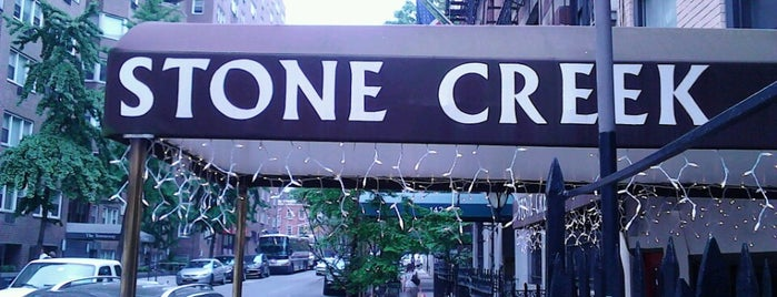 Stone Creek Bar and Lounge is one of USA NYC MAN NoMad.