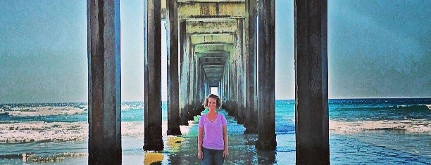 Scripps Pier is one of Welcome to San Diego.