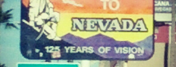 Welcome to Nevada Sign is one of Lieux qui ont plu à Jose.