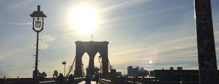 Brooklyn Bridge is one of Tempat yang Disukai Isa.