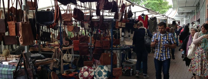 Portobello Green Vintage Fashion Market is one of London shopping.