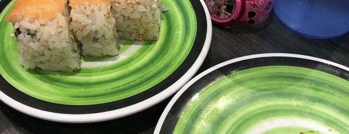 Kura Revolving Sushi Bar is one of Locais curtidos por Jack.