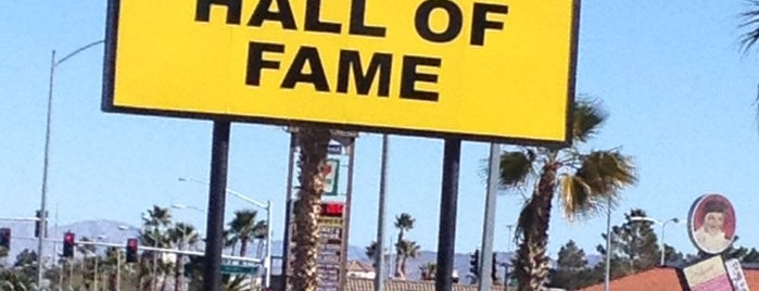 Pinball Hall of Fame is one of Vegas.