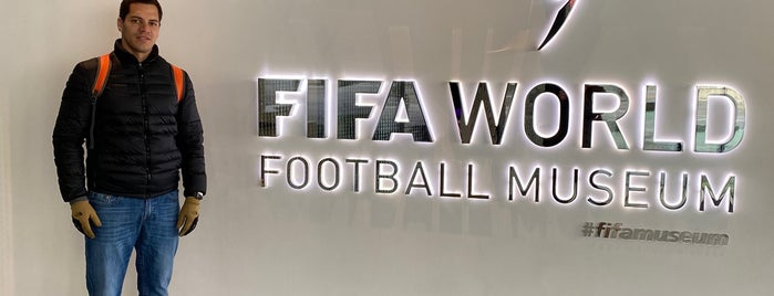 Museo del Fútbol Mundial de la FIFA is one of Because Foursquare F*cked Up Their List Feature 2.