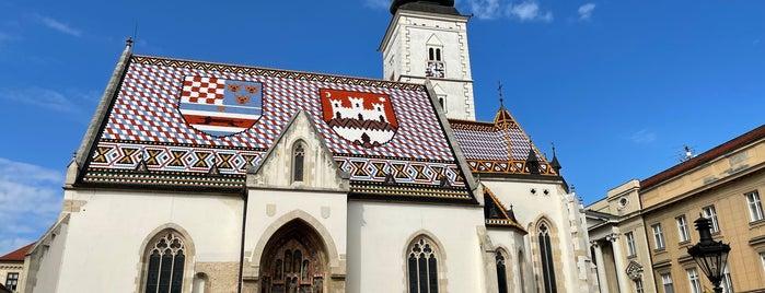 St. Mark's Square is one of #ZagrebEntdecken - Die besten Orte.
