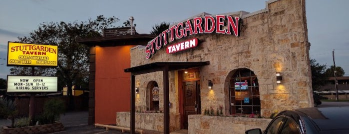 Stuttgarden Tavern Heights is one of Houston.