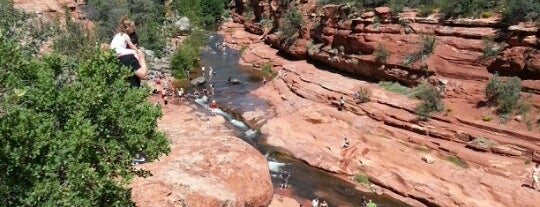 Slide Rock State Park is one of Arizona.